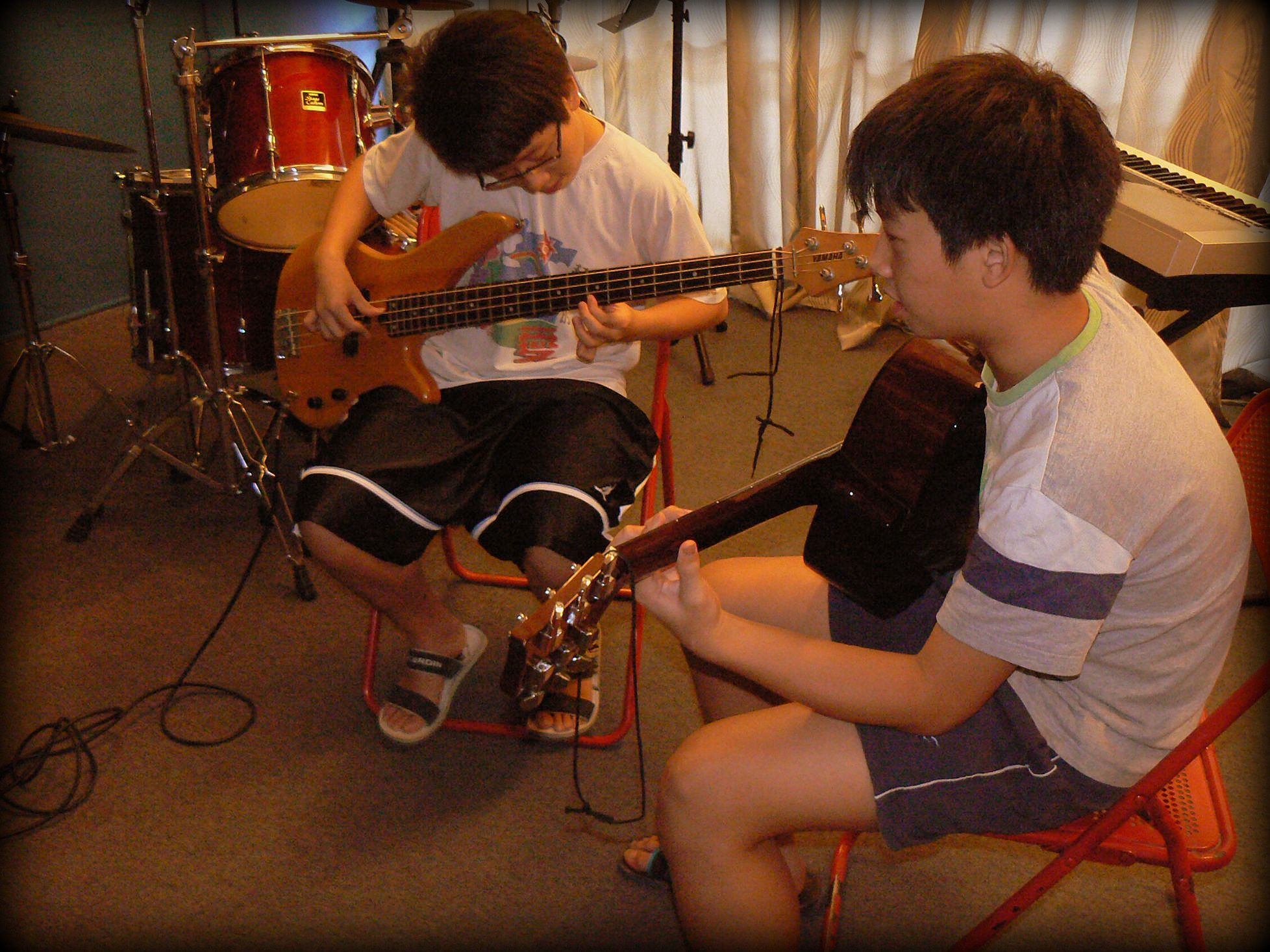 bass guitar lessons excel music penang